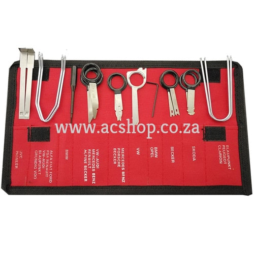 Radio Removal Tool Kit 20pc