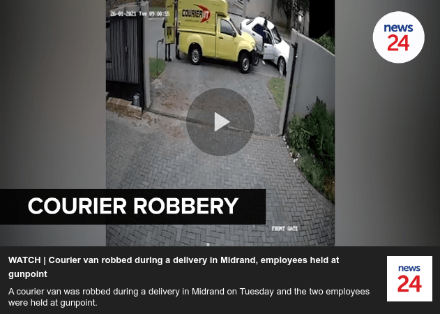 Courier Robbery